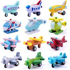 Mini Wooden Aircraft Airplane Educational HandMade Toys Baby Kids Children QZ
