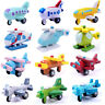 Mini Wooden Aircraft Airplane Educational HandMade Toys Baby Kids Children ME