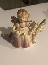Vintage Josef Originals Birthday Angel 4 Four Years Tag Attached.