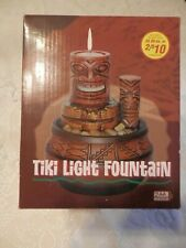 Tiki Tea Light Water Fountain Battery Operated