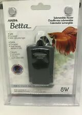 Marine Betta Submersible Heater, 8 Watts, New!