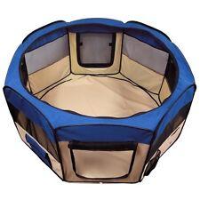 Pet Playpen Puppy Pen Dog Cat Kennel Soft Folding Crate Portable Tent Storage