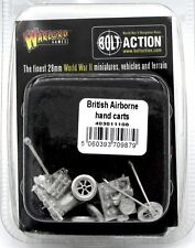 Bolt Action 403011108 British Airborne Hand Carts (WWII) Warlord Games Supplies
