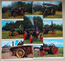 Traction Engines Postcards x 7