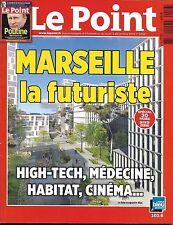LE POINT N°2256 3 DECEMBRE 2015 MARSEILLE LA FUTURISTE/POUTINE, NOTRE NOUVEL AMI