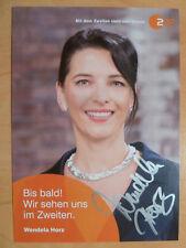 """Wendela Horz, ZDF Karte """"Bares für Rares"""" NEU"""