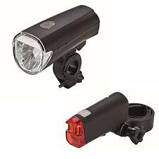 LED-Batterieleuchten-Set 30 Lux Fahrradlampe Fahrradlicht Akkuleuchten Fahrrad