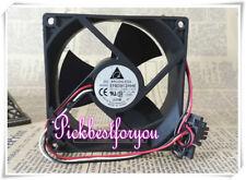 DELTA EFB0912HHE ball bearing Cooling fan DC12V 0.63A 92*92*38mm 3pin #M3950 QL