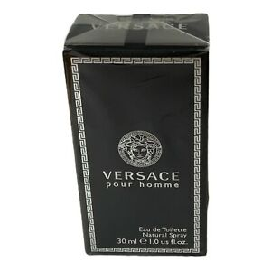 Versace, Versace Pour Homme EDT 1.0 Fl Oz New With Box Sealed