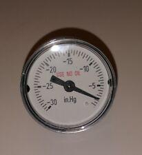 "WIKA Pressure Gauge 111.12 1.5"" 30INHG VAC 1/8"" NPT CBM # 4209047 NEW OLD STOCK"