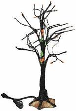 Dept 56 Halloween Village BLACK LIGHT BARE BRANCH TREE 4057623 DEALER STOCK BNIB