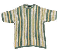 Vintage 90s COOGI Spell out Australia Cosby Sweater Shirt Auth Notorious BIG XL