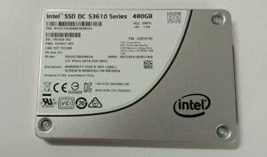 """Intel SSD DC S3610 480GB 2.5"""" SATA 6Gb/s SSDSC2BX480G4 SSD-Pulled fr Intel Serv"""