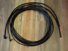 NAIM AUDIO NACA5 speaker cable black 2x6m terminated Naim & Deltron connectors !