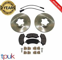 FORD TRANSIT BRAKE PADS DISCS 2006 ON 2.2 FWD 330/350 SERIES ONLY
