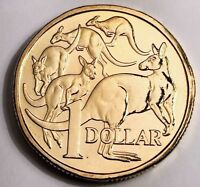 AUSTRALIA 2011 $1 Dollar UNC Coin MOB OF ROOS Ex-RAM UNC Set Excellent