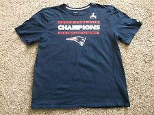 Nike NFL 2015 New England Patriots Super Bowl XLIX Champions T Shirt, Size 2XL