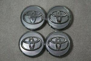 """Toyota chrome center caps, 2.25"""" (57mm) wide  42603-02220 set of 4"""