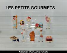 SERIE COMPLETE DE FEVES LES PETITS GOURMETS- BOULANGERS PATISSIERS