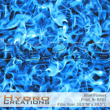 HYDROGRAPHIC FILM FOR HYDRO DIPPING WATER TRANSFER FILM BLUE FLAMES