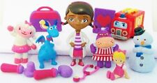 DOC MCSTUFFINS Figure Set DISNEY PVC TOY Cake Topper STUFFY Hallie LAMBIE Chilly