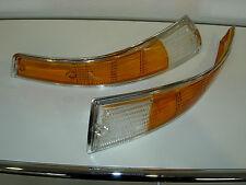 Porsche 911 Rear Light Lens Indicator Pair Chrome Set 91163192300 91163192400