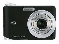 GE Smart Series A735 7.0 MP Digital Camera - Black