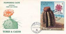 Turks & Caicos CACTUS S/S #475 FDC GOV'T ISSUED; (1981)