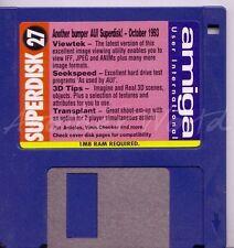 Revista Amiga usuario Internacional-coverdisk-SuperDisk 27