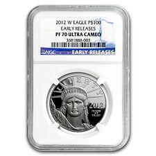 2012-W 1 oz Proof Platinum American Eagle PF-70 NGC (ER) - SKU #72382