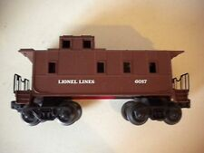 VINTAGE~~Lionel Trains~~Lionel #6017~~Train Car~~Caboose - Shell Only