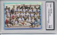 2002 SCI PLATINUM TEAM CANADA OLYMPICS NHL HOCKEY GEM MINT 10 1 OF 2000 SHORT PR