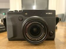 Fujifilm X series X30 - Black - with box and accessories - Mint Condition