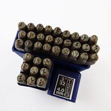 4 mm nombre & lettre stamps combinaison ensemble bijoux watch outils 5/32 pouces