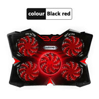5 Fans Laptop Cooler Laptop Cooling Pad Notebook Gaming Cooler Stand with 2 USB