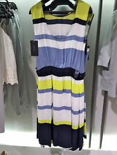 Rare! Size M NWT ZARA STRIPED DRESS LONG FLOWING REF. 2627/174