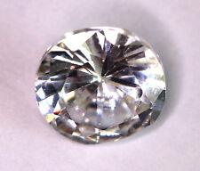16,15 ct  Zircon CZ taille Diamant  - Superbe - Diamètre 14 mmt