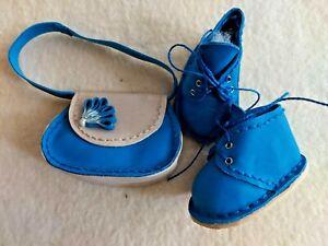 Boots (6,5 CM) And Handbag: Handarbeit, Ein Gorgeous Essemble - Unique Specimen