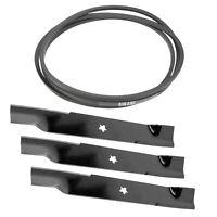 Deck Belt 574845603 Blade 574870801 For Husqvarna Gt52Xls Gt52Xlsi GTH27V52Ls