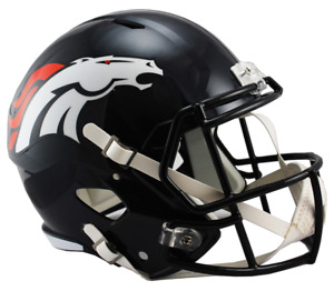 NFL Riddell Football Speed Mini Helm Denver Broncos
