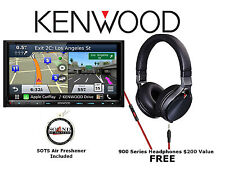 Kenwood eXcelon DNX893S Navigation w/ Bluetooth HD Radio and Headphones KH-KR900