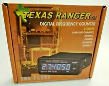 Texas Ranger CB, HAM 10 METER Radio 6 digit frequency counter (BLUE) SRA-fc393