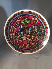 More details for saint lublin window chartres cathedral stained glass lord nelson pottery plate