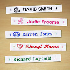 GB Name Tapes Sew in Woven Name Labels - 72 Piece
