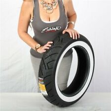 150/80-16 Shinko 777 Heavy Duty White Wall Rear Tire