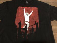 Daniel Bryan Yes! Artistic Silhouette WWE Wrestling Authentic XL Black T Shirt