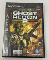 Tom Clancy's Ghost Recon 2 (Sony PlayStation 2, 2002) PS2 Complete