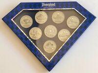 Disneyland 60th Anniversary Coin Pin Box Set LE 1000 7 Pins Castle Submarines