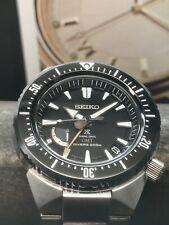 Seiko ProspeX Spring Drive GMT SBDB017 45mm Titanium Case Power Reserve 200m