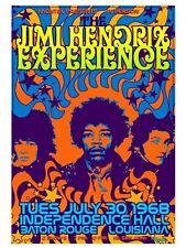 Jimi Hendrix Retro Vintage Replica Print Rock n Roll MUSIC 18X24 POSTER